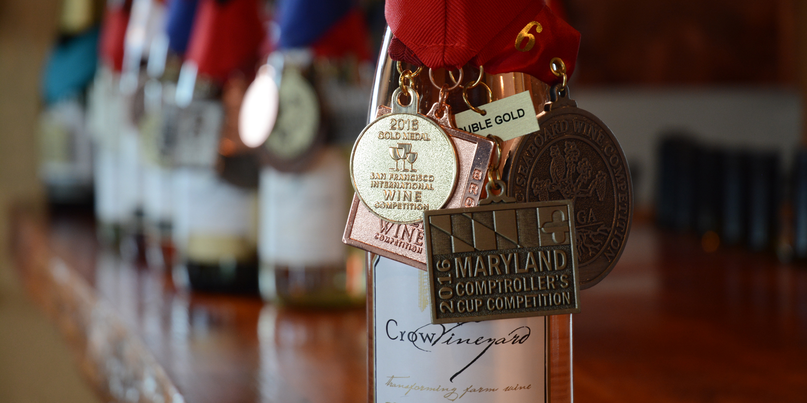 Crow Vineyard & Winery Awards