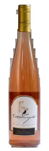 Crow Vineyard & Winery Barbera Rosé