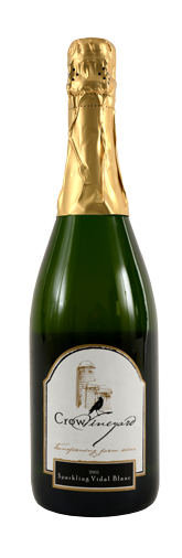 Crow Vineyard & Winery Sparkling Vidal