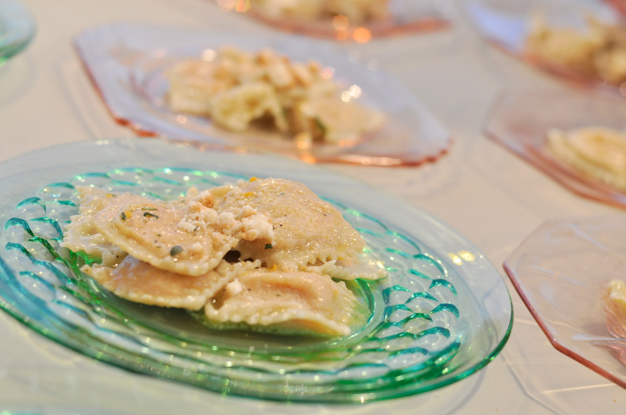 Crow Vineyard & Winery Ravioli