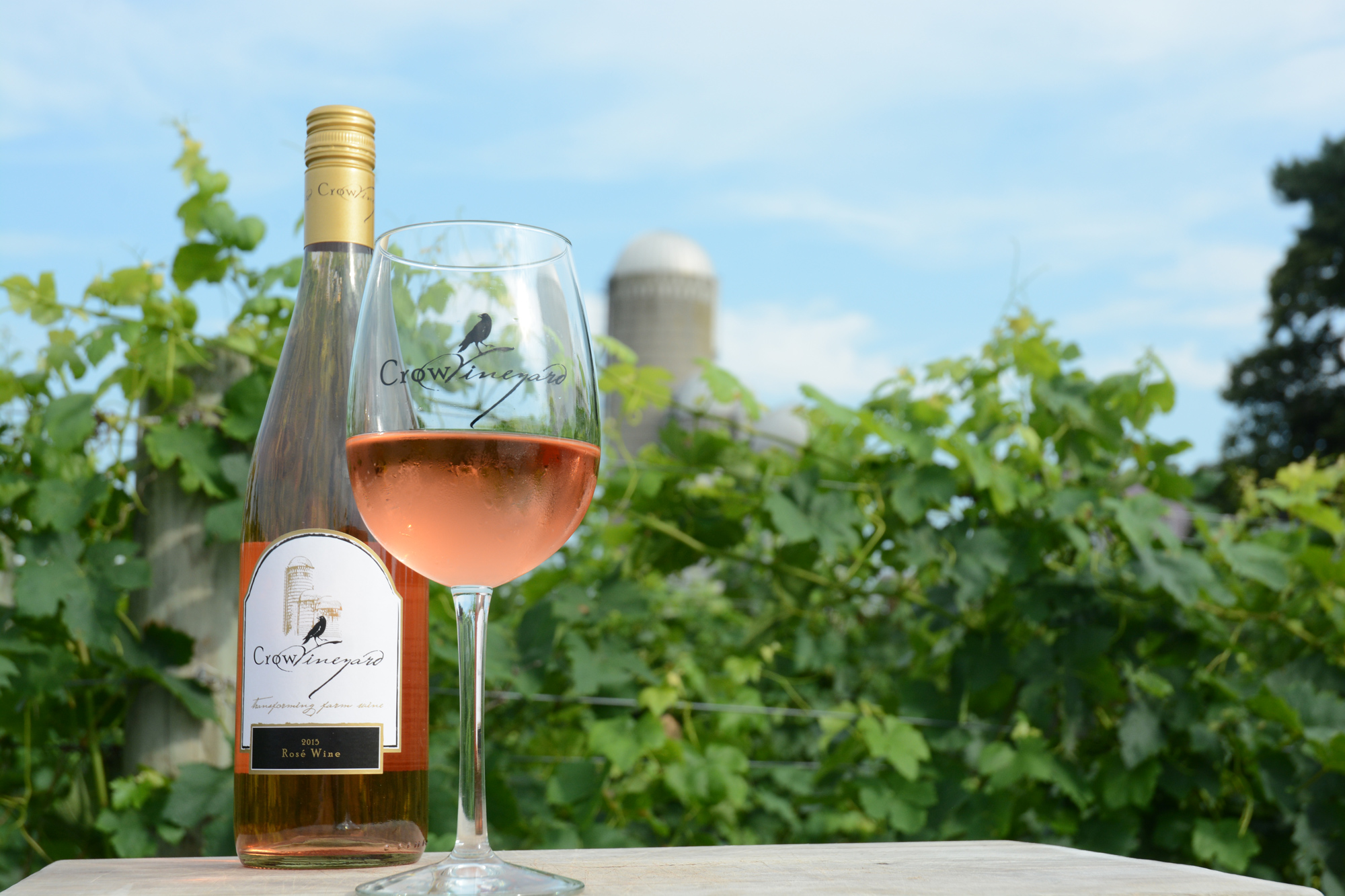 Crow Vineyard & Winery Rosé