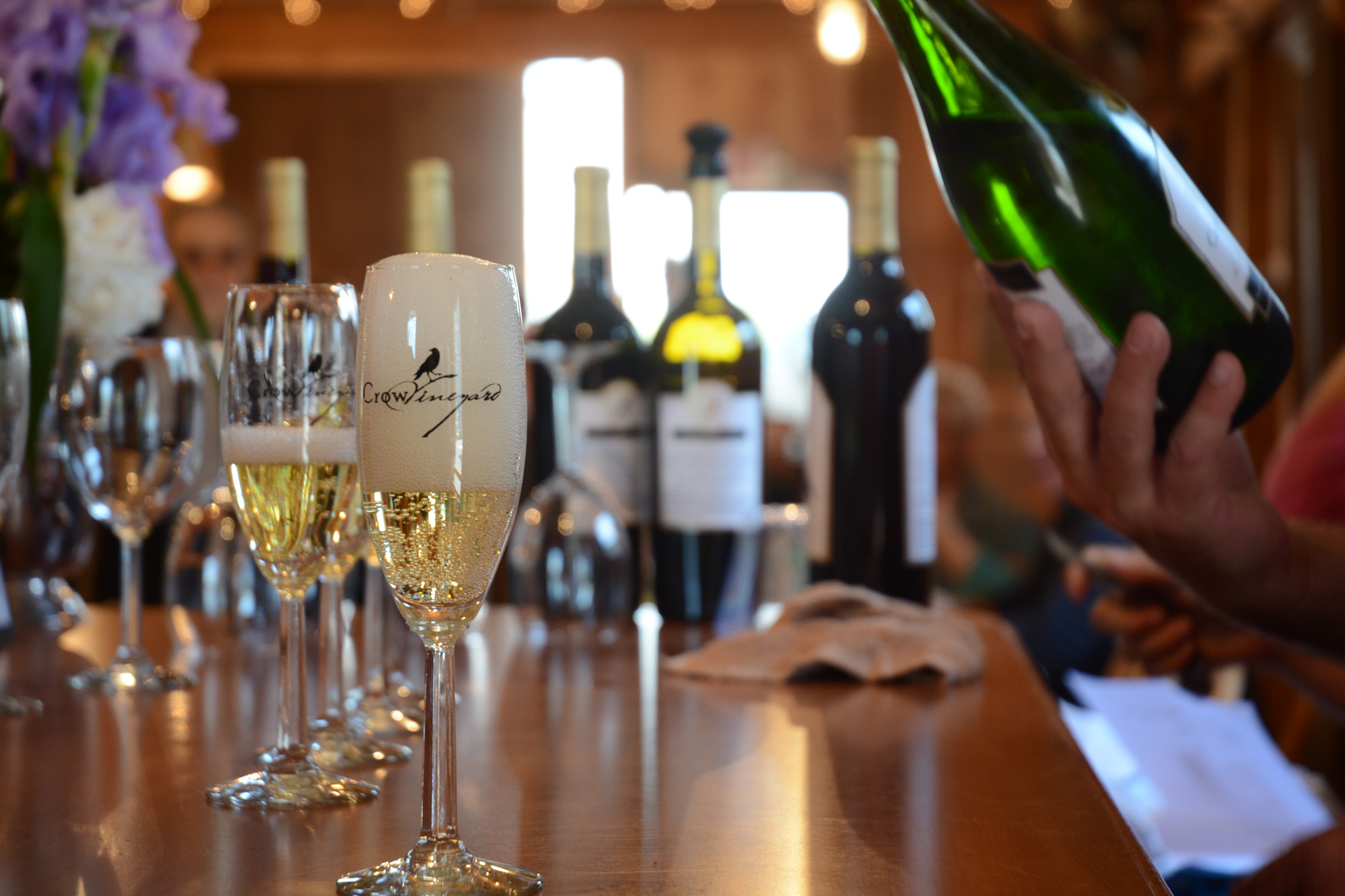 Crow Vineyard & Winery Sparkling Vidal