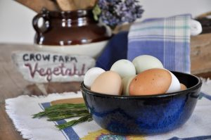 Crow Vineyard & Winery Farmstay Breakfast