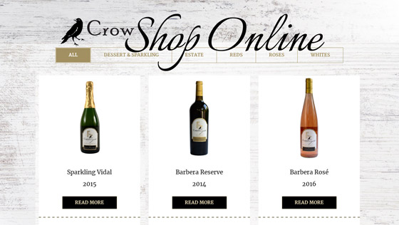 Crow Online Wine Shop