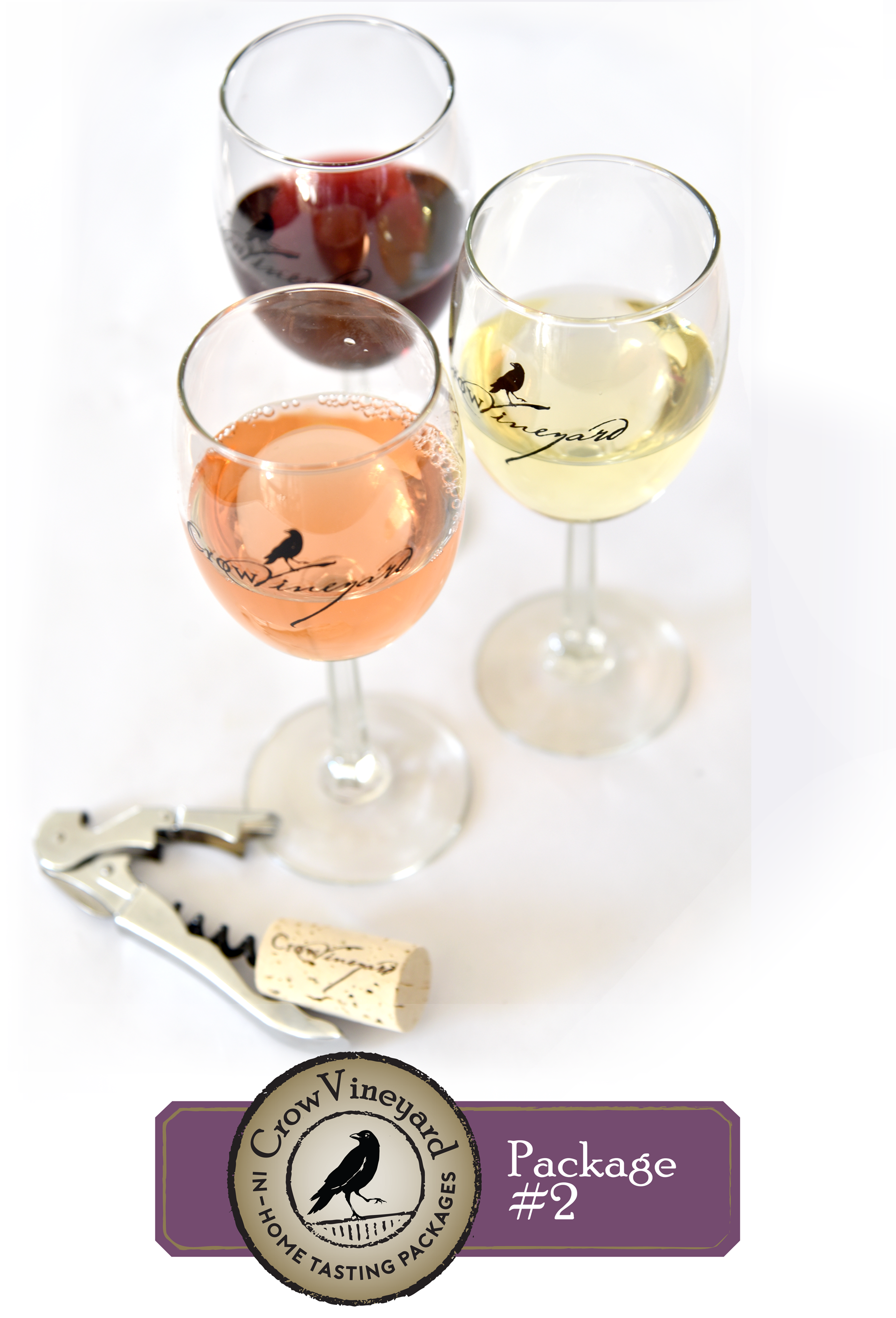 Crow In-Home Wine Tasting packages