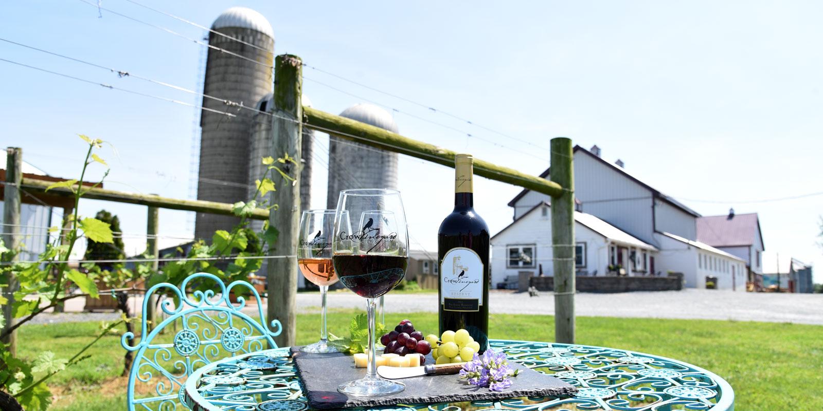 Crow Vineyard Farm to Table