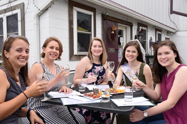 Warm Hospitality served with Wine